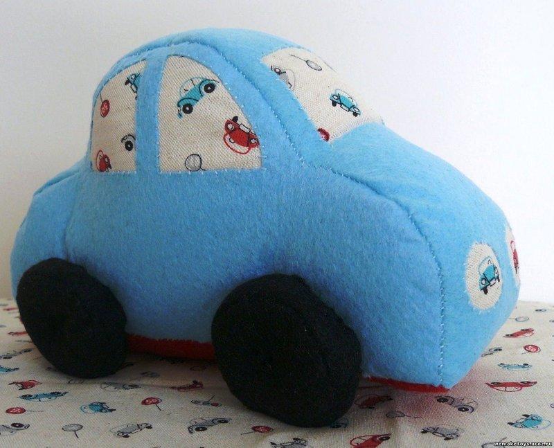 Как сшить мягкую игрушку машинку своими руками