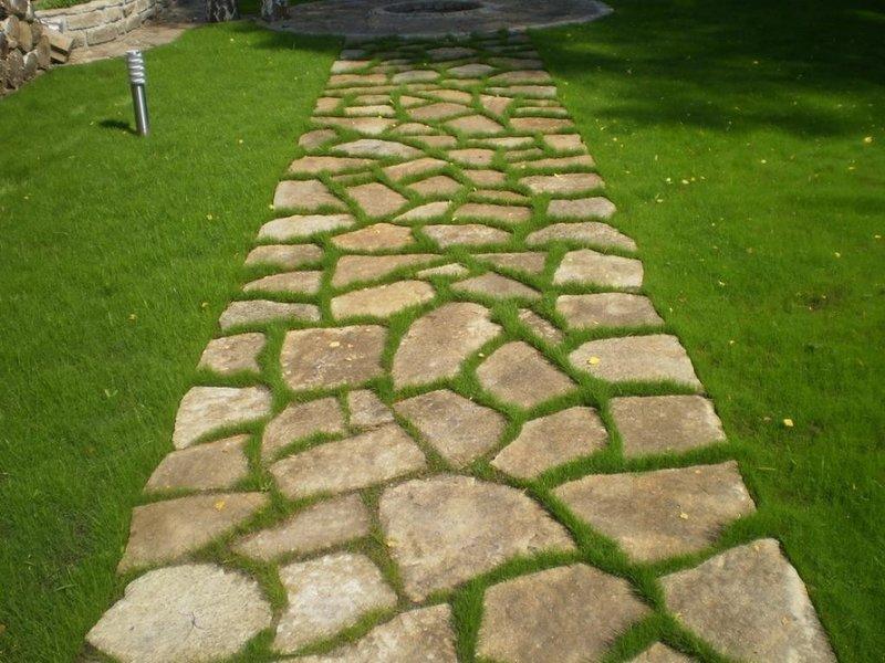 Слияние с природой - зеленые садовые дорожки - Look at Home