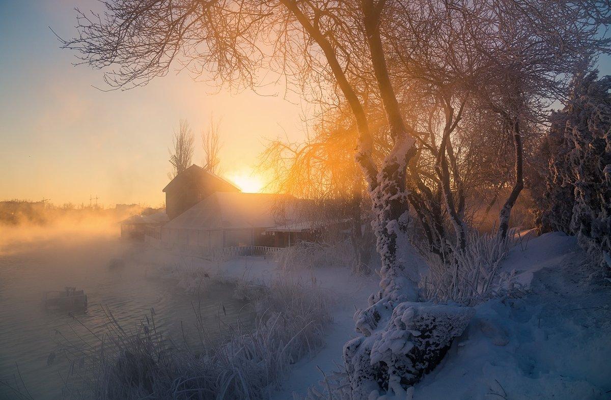 Утро туманное, утро морозное