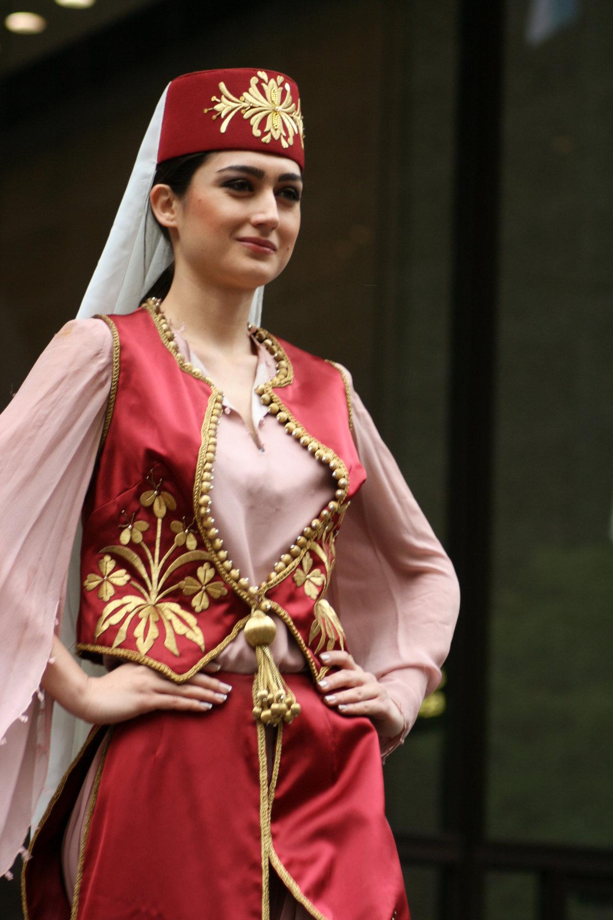 Национальный турецкий костюм фото