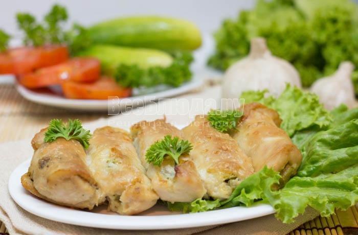 курица с солеными огурцами в духовке