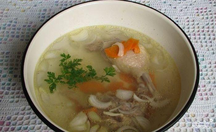 Суп из утки рецепты с фото пошагово