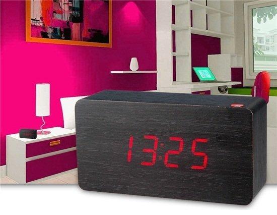Светодиодные оригинальные часы