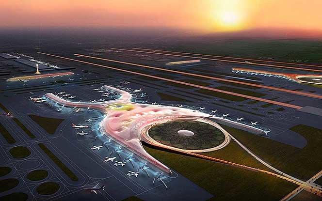 Проект аэропорта New Mexico Сity. Foster