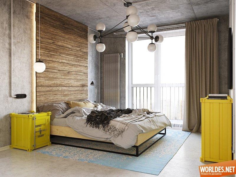 Интересные нетрадиционные спальни фото 1