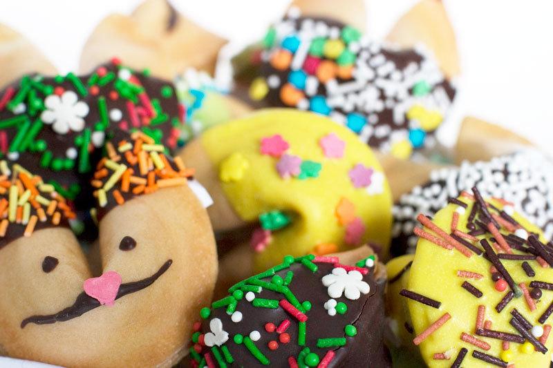 печенье с пожеланиями на новый год рецепт счастью