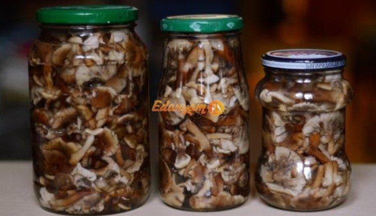 маринованные опята на зиму рецепты с фото пошагово