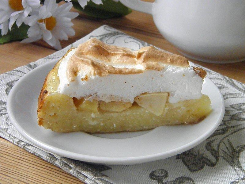 яблочный пирог с творогом рецепт-хв9