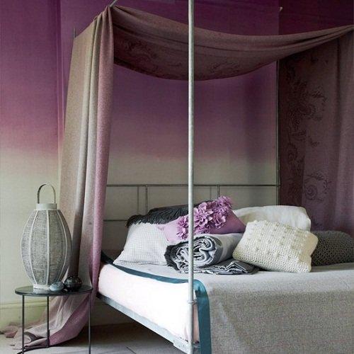 Выбираете цвет для спальни? Остановитесь на фиолетовом. Гордый и царственный или мягкий и нежный, диапазон оттенков фиолетового не сравнится ни с одним цветом.