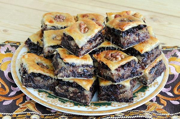 Пахлава турецкая рецепт с фото из слоеного