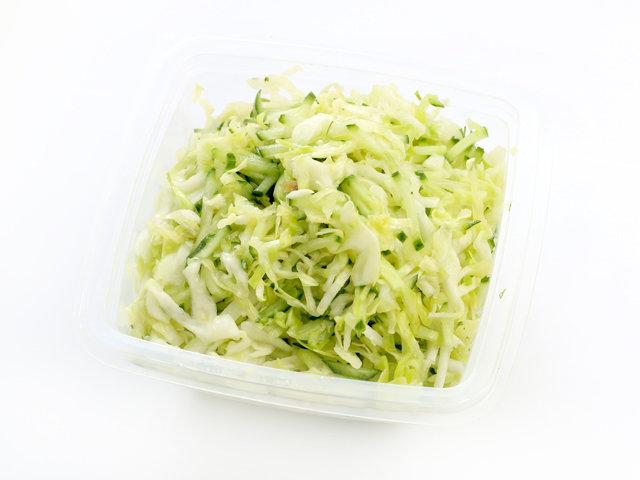 салат капуста свежая огурец