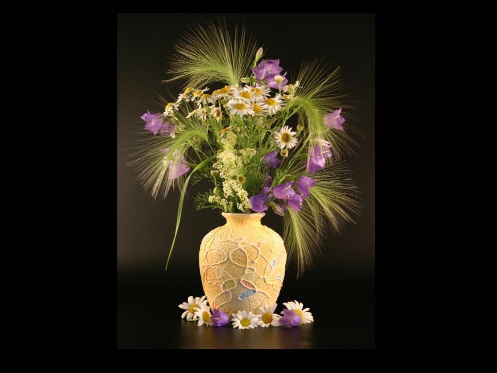 Фото цветов полевые экибана букетов красивые