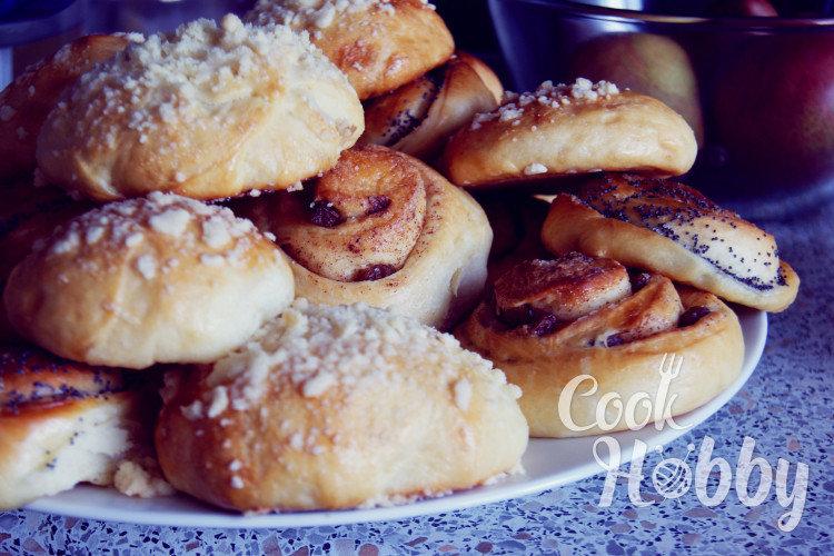 лучшие рецепты булочек с фото