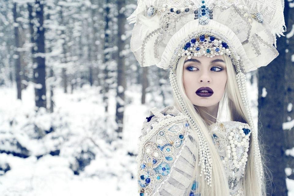 Цветы тебе, девушка зима картинки сказочные
