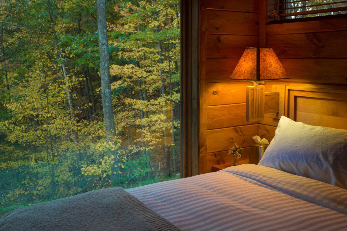 картинка кровать в лесу стал еще