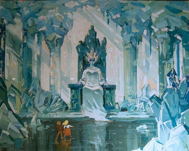 фото снежная королева из мультфильма