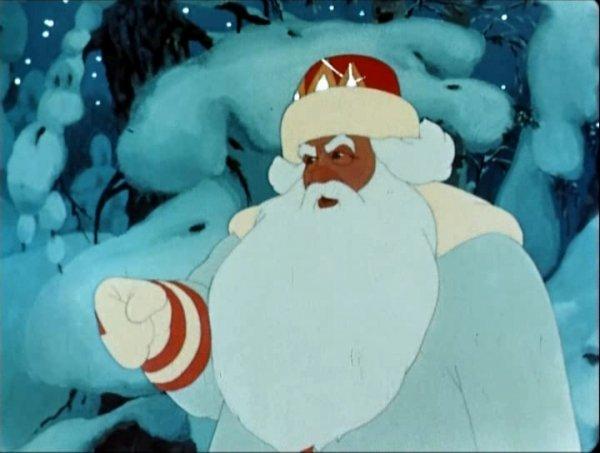 Дед Мороз в стране мультфильмов