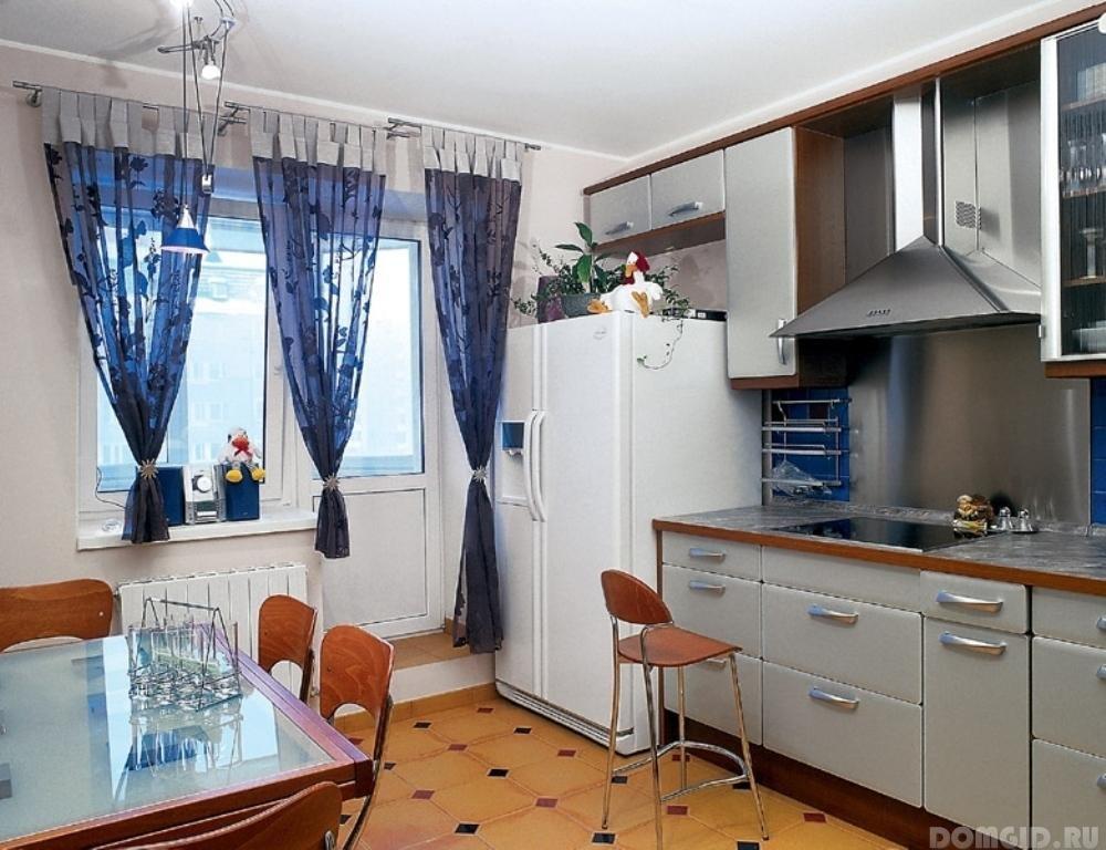 """Дизайн интерьера маленькой кухни и кухни гостиной."""" - карточ."""