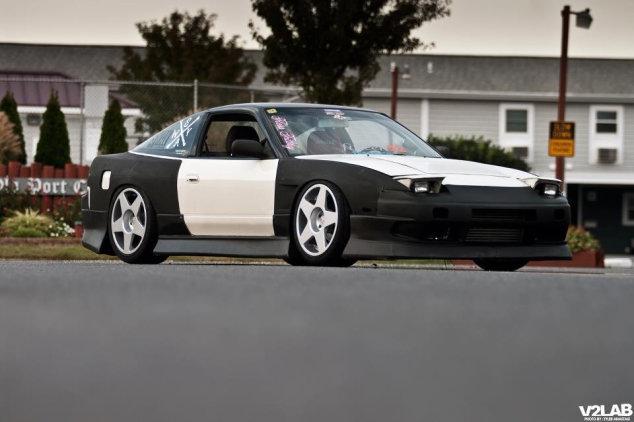 Диски fifteen52 на Nissan S13