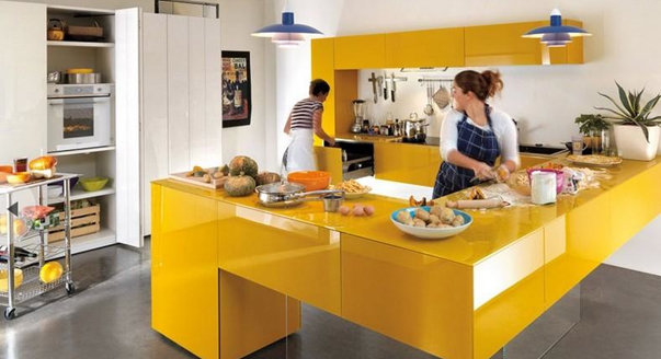 Обустройте свою кухню так, чтобы она помогала вам поддерживать себя в хорошей форме и при этом не отбивала аппетит!