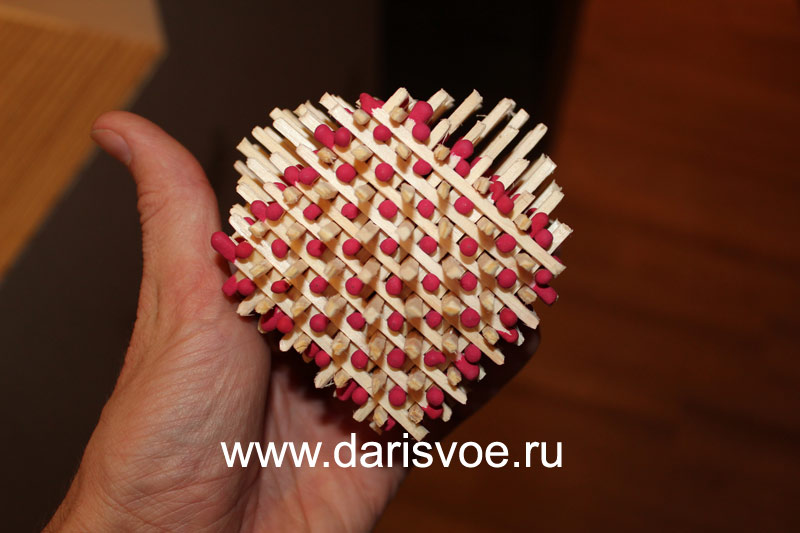Сердца сделаны своими руками 345