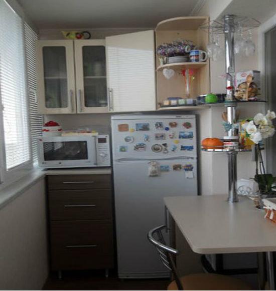 """Переделка балкона в кухню"""" - карточка пользователя kod в Янд."""
