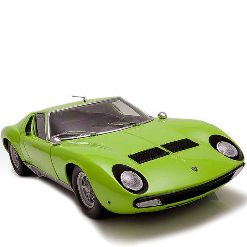 171 Lamborghini Miura P400 Sv является точной копией оригинальной модели спортивного автомобиля