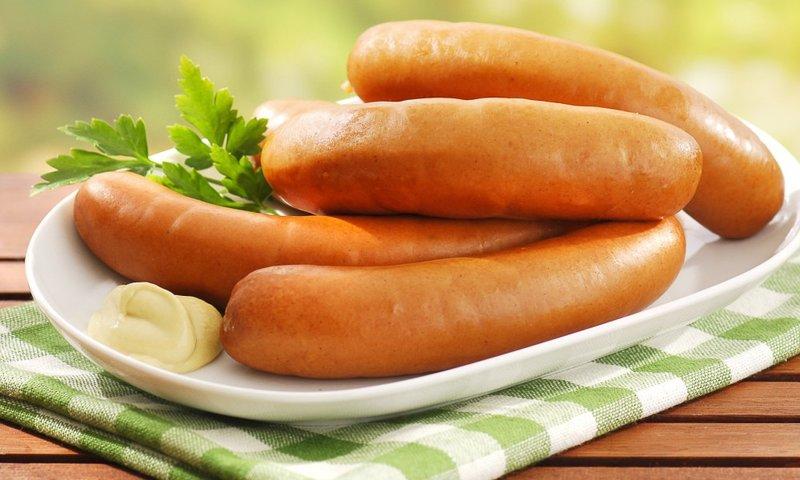 Детские домашние сосиски — рецепт