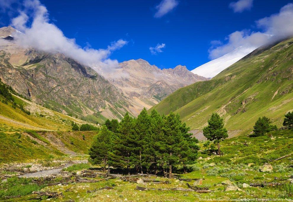 Красивые рисунки, картинки отдых в горах кавказа