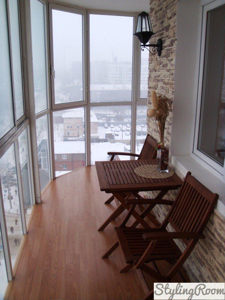 Застекленные балконы: фото лучших идей.