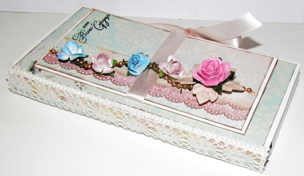 Днем рождения, открытка шоколадница фото