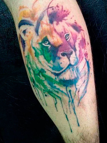f8214dc223a00 Prague, Tigers and Tattoo artists on Pinterest Water Color Tattoo ...