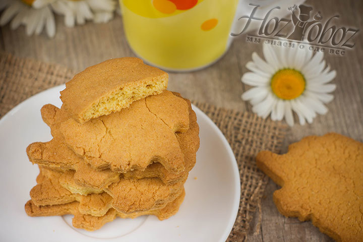 Рецепт кукурузного печенья в домашних условиях
