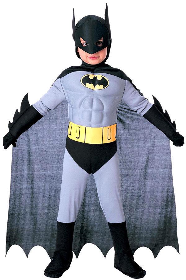 Костюм Бэтмена для детей: новогодний наряд 14