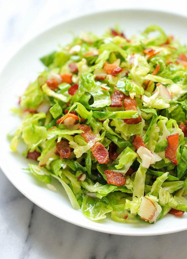 салат из капусты брюссельской рецепты