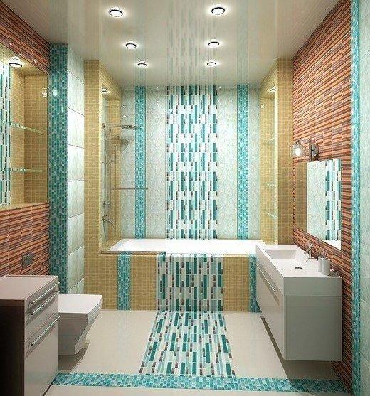 Ванная в стиле модерн.