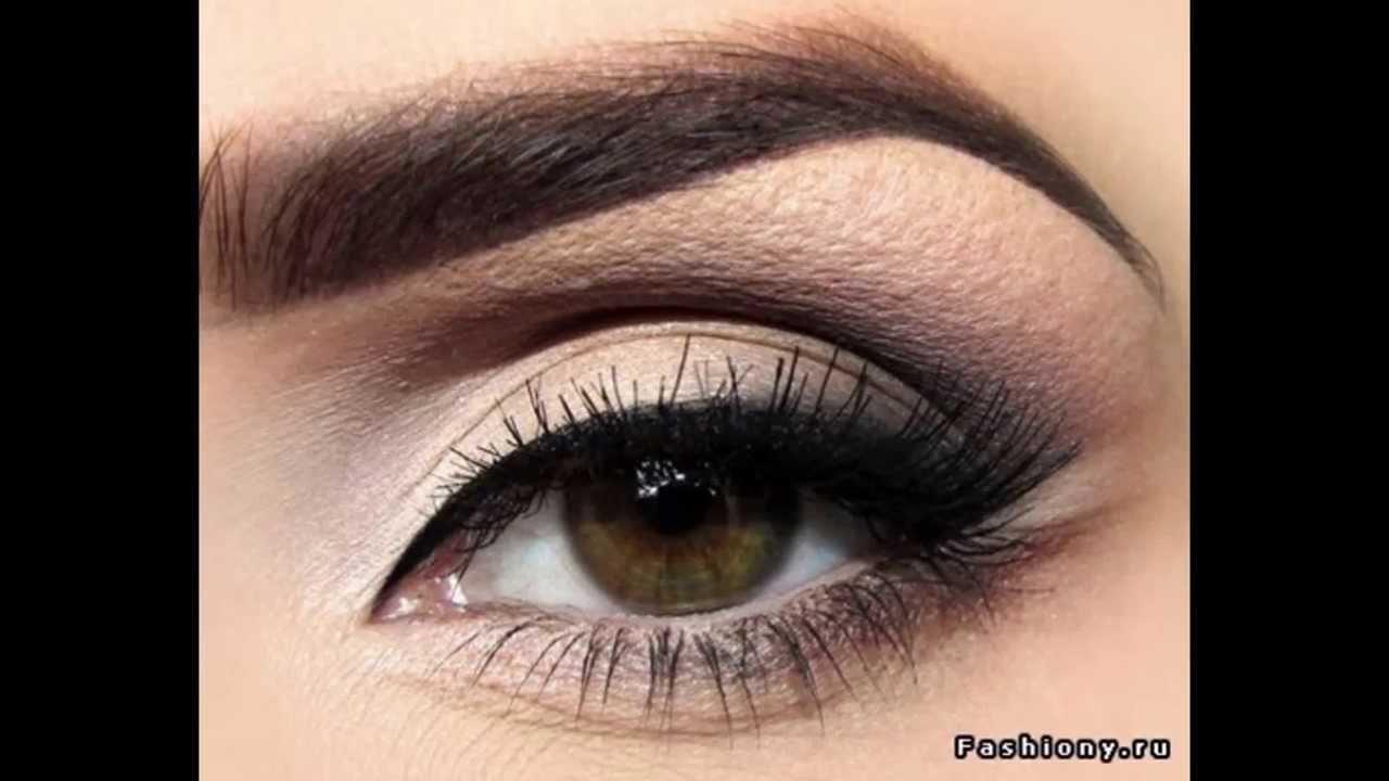 макияж глаз для карих глаз фото