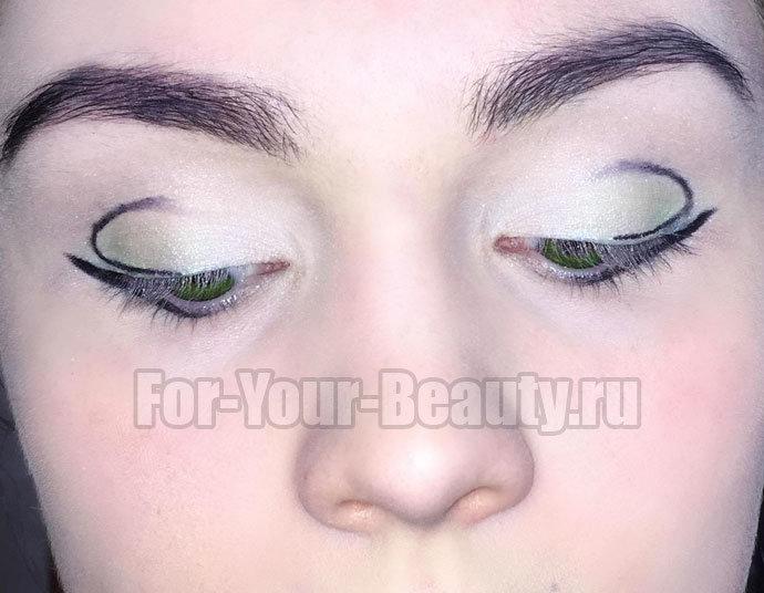 Вечерний макияж для зеленых глаз: 10 фото поэтапно
