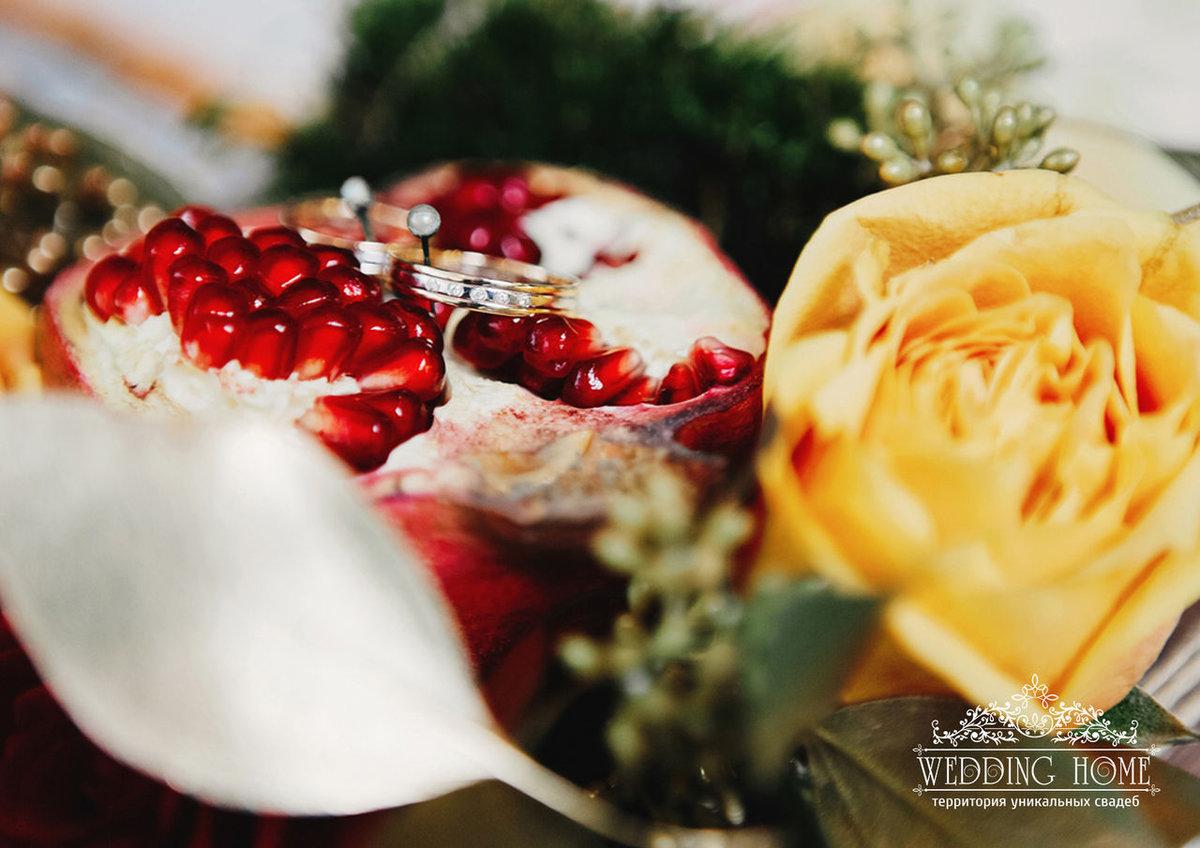 Воскресенье поздравление, открытка с гранатовой свадьбой жене