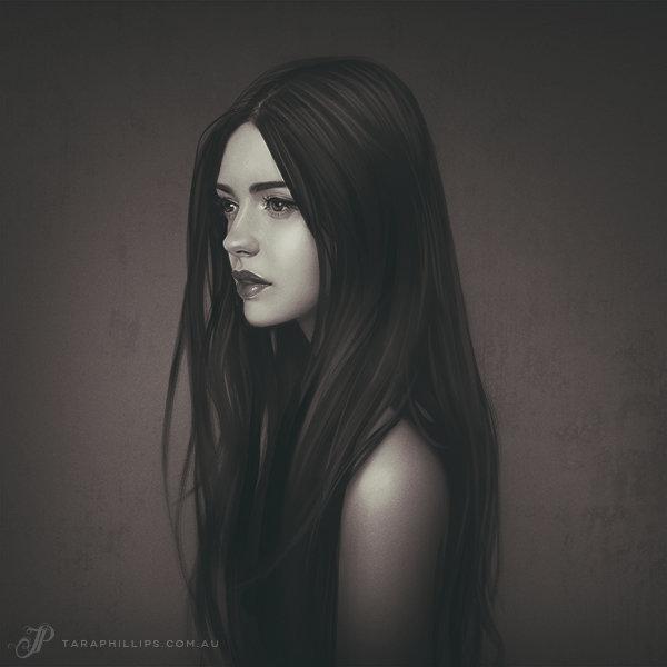 девушка арт фото