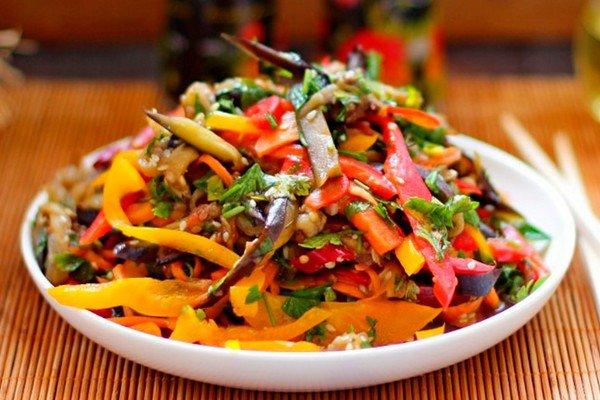салат баклажанов фото рецепт