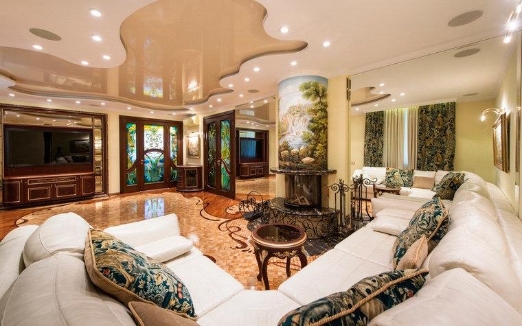 интерьер гостиной № 22156, автор - Уютная квартира на сайте InteriorExplorer.ru