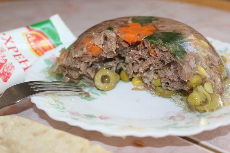 Холодец из лосятины рецепт с фото пошагово