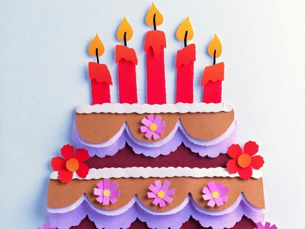 открытка торт с детьми своими руками стала мечтать увеличении
