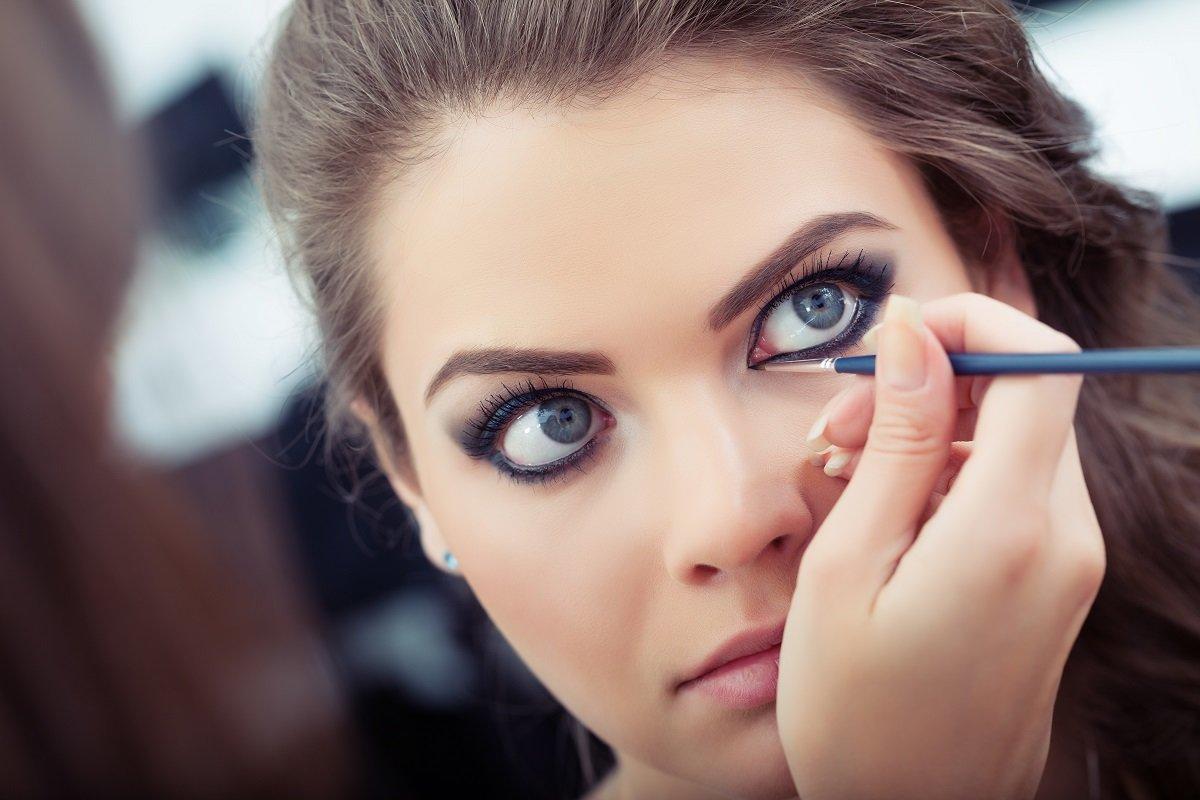 красивый макияж для увеличения глаз фото что многие