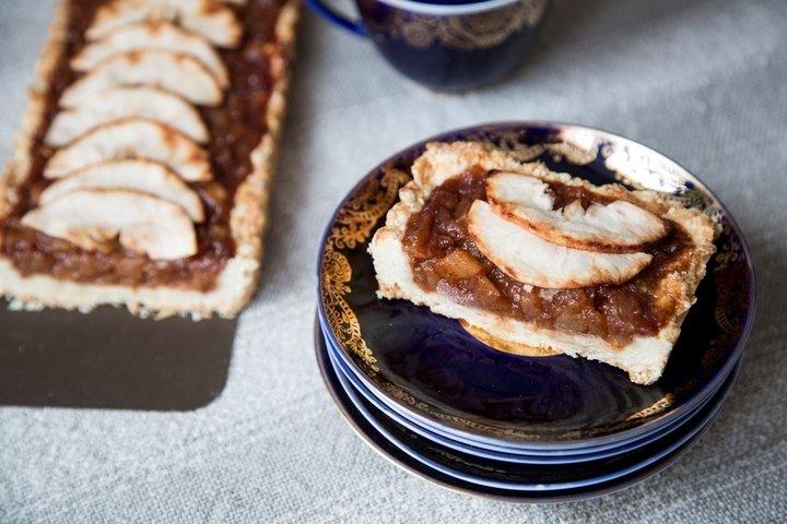 Яблочный тарт - пошаговый рецепт с фото