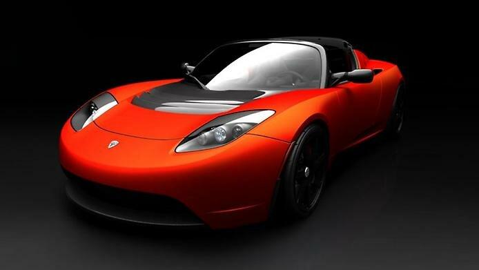 Первый в мире электрический спорткар