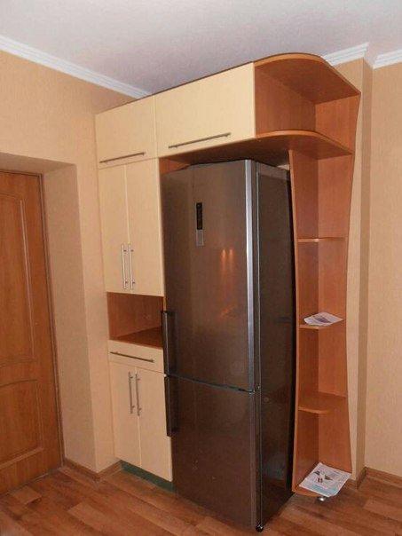 Холодильник в прихожей в хрущевке фото в современном каталог.