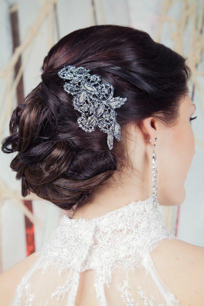 Как заколоть волосы для свадьбы