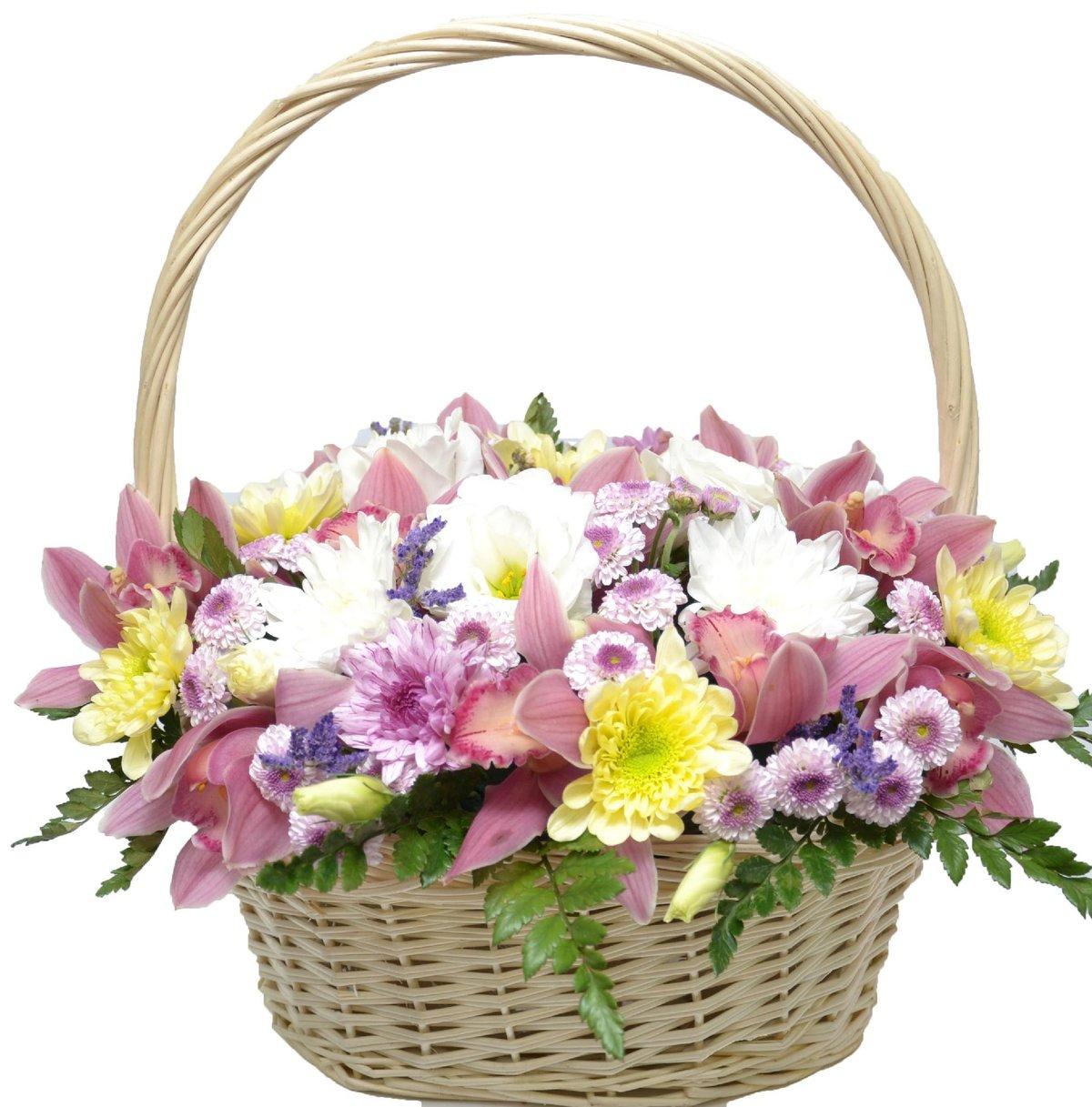 Картинки красивые корзины с цветами, ваза